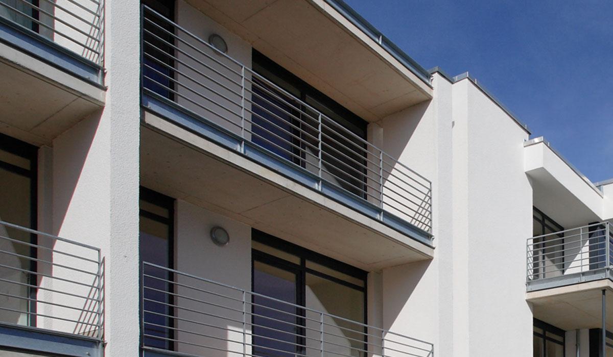 Balkone und erker moderne architektur